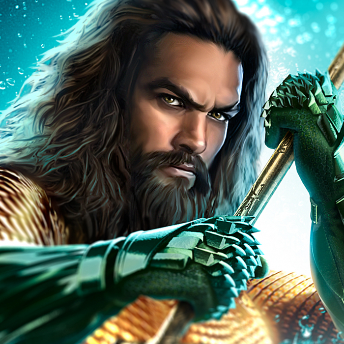 Aquaman sample graphic